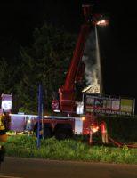 27 augustus Uitslaande dakbrand verwoest slooppand Hoofdweg-Zuid Nieuwerkerk a/d IJssel