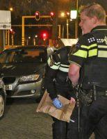 8 december Auto in brand, mogelijk aangestoken Van Foreestweg Delft [VIDEO]