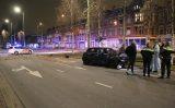 15 december Enorme schade bij aanrijding op kruispunt Waldeck Pyrmontkade Den Haag
