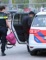 30 april Opnieuw brand in sloopgebouw, vier aanhoudingen in de omgeving Van Embdenstraat Delft