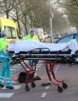 26 januari Scooterrijder gewond bij aanrijding met auto Schoemakerstraat Delft