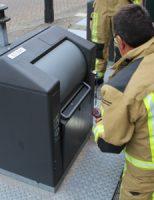 1 oktober Brandweer opnieuw in actie voor voorwerp in ondergrondse container Jan Barendselaan Poeldijk