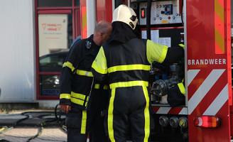 11 september Middelbrand aan de Ampereweg Delft