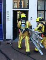 8 juli Brandweer rukt uit voor brand in achtertuin Stille Veerkade Den Haag