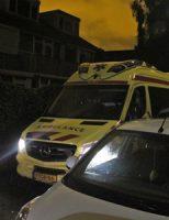 8 september Busje in brand tegen woning Mauritsstraat Moerkapelle