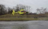 17 februari Traumahelikopter vliegt uit voor verstikking Binnenhof Monster