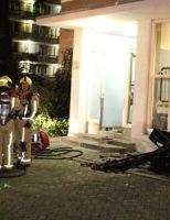 6 oktober Middelbrand door brandende bank in flat Zwedenburg Den Haag
