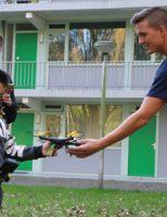 15 oktober Brandweer haalt quadcopter uit de boom Buitenhofdreef Delft