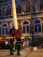 7 september Brandweer rukt uit voor mogelijke brand in schoorsteenkanaal Phoenixstraat Delft