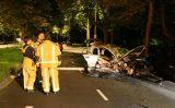 9 september Enorme ravage bij eenzijdig ongeval Bezuidenhoutseweg Den Haag