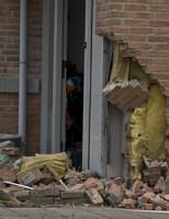 31 maart Achtervolging eindigt tegen gevel woning Spiegelmakerstraat Delfgauw