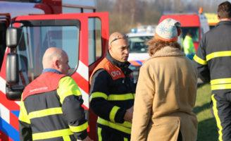 21 januari Hulpdiensten rukken uit voor achtergelaten fiets Floppenplaskade Maasland