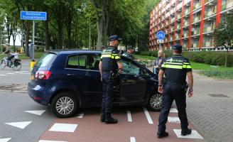 9 september Politievoertuig betrokken bij ongeval Bosboom-Toussaintplein Delft [Video]
