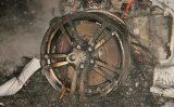 25 februari Peperdure Porsche volledig uitgebrand in recreatiegebied Delftse Hout [VIDEO]