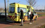 21 februari Weg afgesloten door aanrijding met flinke schade Laan van Wateringseveld Den Haag