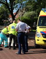 5 juni Aanrijding auto versus scooter Delft