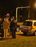 4 februari Kop-staart aanrijding voor stoplicht Westlandseweg Delft