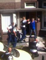 3 september Persoon aangehouden na tonen vuurwapen Den Haag