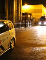 6 februari Brandweer blust brand in opslagloods Schieweg Delft