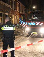 26 februari Bewoners van drie woningen in de kou door brand Leliestraat Rijswijk