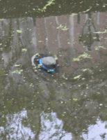 15 juni Vrouw raakt te water met scootmobiel Voorstraat Delft
