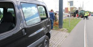 2 juli Materiële schade bij aanrijding tussen bestelbus en tram Zuidwal Delft