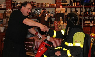 Delftse brandweerman Chris stopt er mee