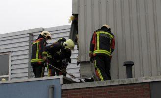 7 februari Isolatiemateriaal in brand na dakwerkzaamheden  Burgermeester Klinkhamerweg Zevenhuizen