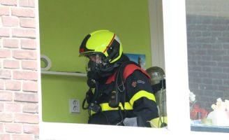 23 mei Vlam in de pan zorgt voor uitruk brandweer Bagijnestraat Delft