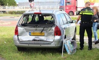 19 september Schade bij kop-staart aanrijding Burgemeester van Doornlaan N223 De Lier