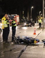 9 oktober Motorrijder gewond bij aanrijding Veluweplein Den Haag