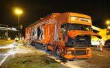 1 oktober Grote bergingsoperatie na gekantelde vrachtwagen met glasplaten De Lier