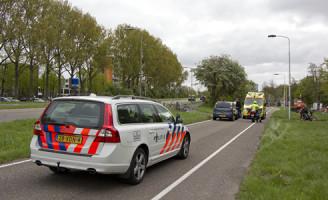 15 april Gewonde bij ongeval Provincialeweg Delft