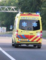 24 mei Vrachtwagenchauffeur bekneld na ongeluk op de A20 bij De Lier