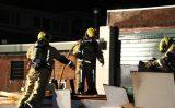 2 oktober Grote container met hout in brand gestoken Datheenstraat Den Haag