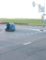28 december Ongeval tussen twee voertuigen Woudseweg-N223 Den Hoorn [VIDEO]