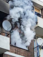 5 maart Uitslaande brand verwoest flatwoning Schiedam
