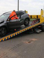 3 juli N468 drie uur lang dicht na ongeval N468 Schipluiden
