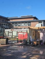 21 oktober Gaslek bij sloopwerkzaamheden oude gemeentehuis Stokdijkkade Naaldwijk [VIDEO]