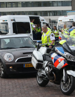 22 mei Verkeerscontrole 1e Van der Kunststraat Den Haag