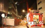 30 september Brandweer rukt uit voor brand in parkeergarage Amsterdamse Veerkade Den Haag