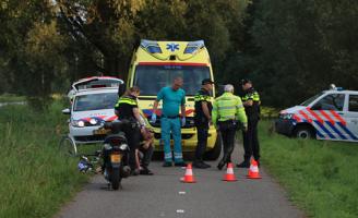 14 september Fietser gewond na aanrijding met scooter Noordweg Pijnacker