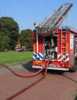 24 september Brand in tuinhuisje Martinus Nijhoffweg Den Haag zorgt voor grote rookontwikkeling [VIDEO]