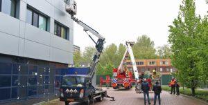 30 april Glazenwasser vast in bakje Reinier de Graafweg Delft