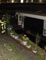 20 april Lek in woonboot zorgt voor brandweerinzet Conradkade Den Haag