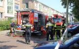 27 augustus Twee gewonden bij brand in woning Coevordenstraat Den Haag