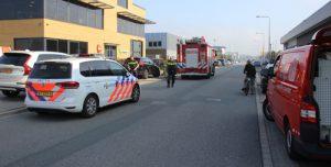 27 september Brandweer rukt uit voor gaslekkage bij werkzaamheden Klopperman Wateringen