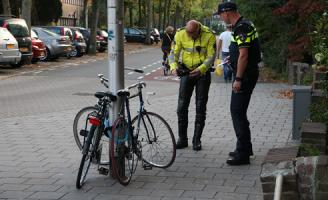 17 september Fietser gewond na aanrijding met auto Julianalaan Delft