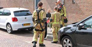 1 mei Woning ontruimd na vlam in de pan Rembrandtstraat Delft