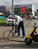 26 maart Fietser aangereden door scooter Voorhofdreef Delft